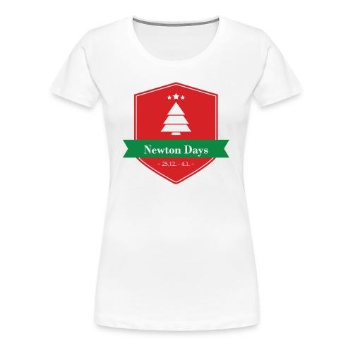 Newton Days - Women's Premium T-Shirt