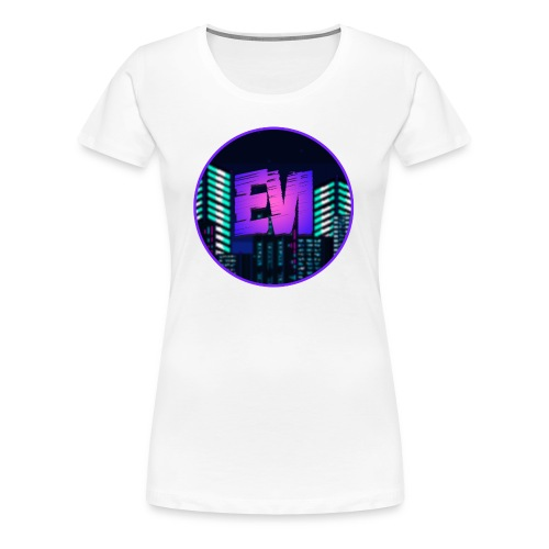 EVI Logo - Women's Premium T-Shirt