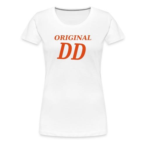 Original DD rot - Frauen Premium T-Shirt