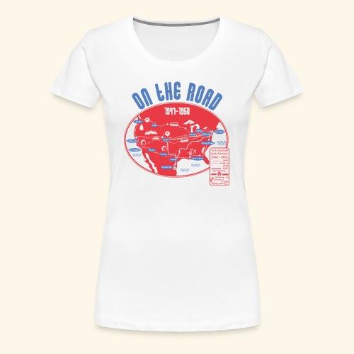 TShirtOntheRoad copy - Camiseta premium mujer