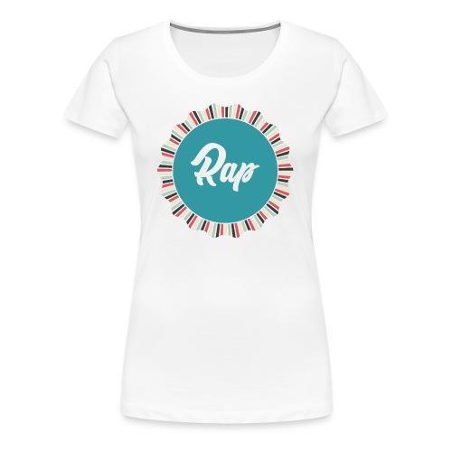 RAP2 - Maglietta Premium da donna
