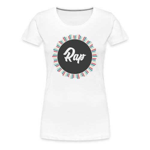 RAP - Maglietta Premium da donna