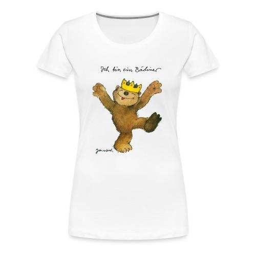 Janosch Kleiner Bär Ich Bin Ein Bärliner - Frauen Premium T-Shirt