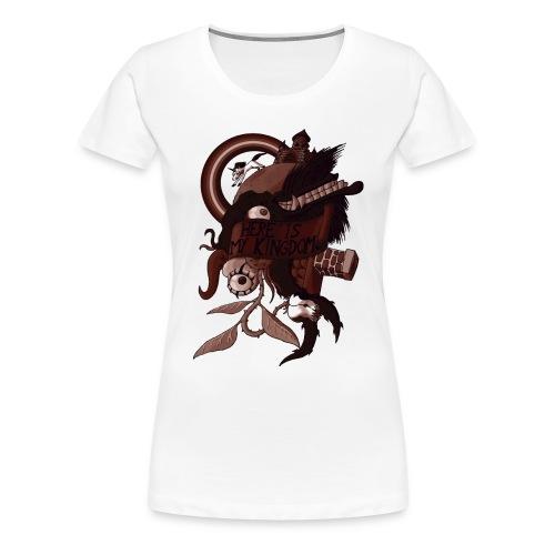 Here is my Kingdom(Sepia) - Männer - Frauen Premium T-Shirt