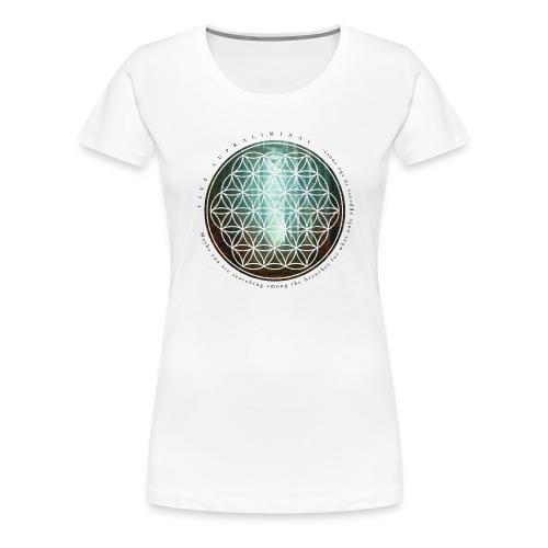 The flower of life - Premium-T-shirt dam