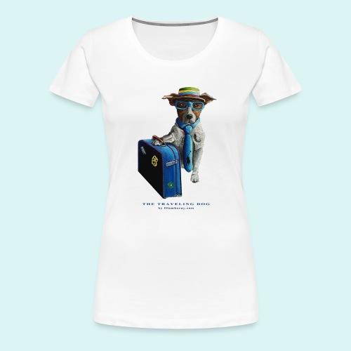 The Traveling Dog - Women's Premium T-Shirt