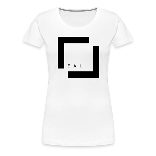 REAL LOGO - Frauen Premium T-Shirt