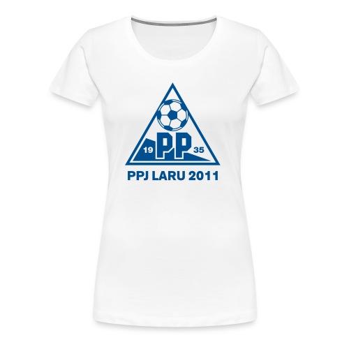 PPJ Laru 2011 - Naisten premium t-paita