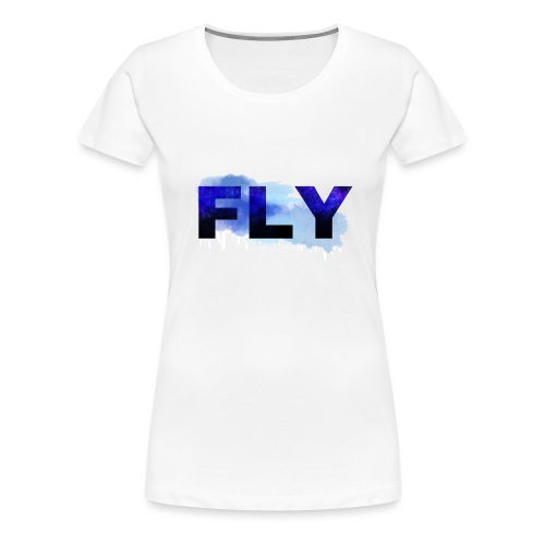 Paint Fly Design - Women's Premium T-Shirt