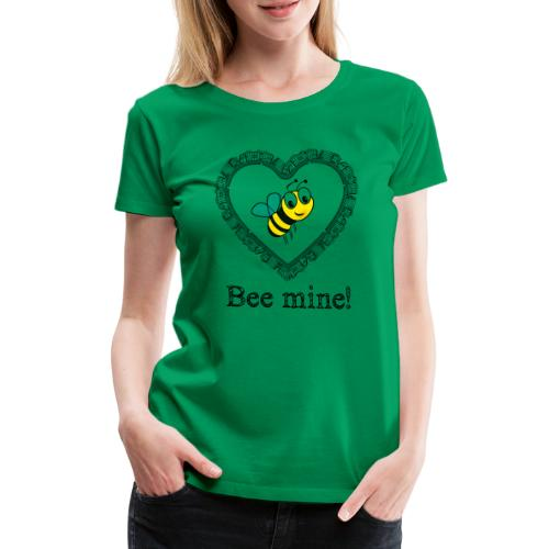 Bees3-2 save the bees | bee mine! - Women's Premium T-Shirt