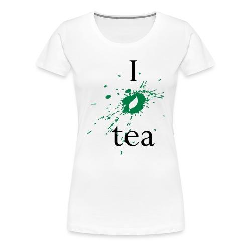 I Love Tea - Maglietta Premium da donna