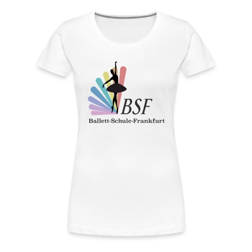 Ballett-Schule-Frankfurt - Frauen Premium T-Shirt