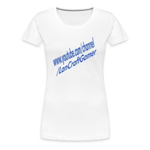 Delux LanCraftGamer Clothes/Accessories - Premium-T-shirt dam