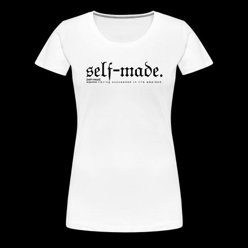 SELF-MADE WB - Women's Premium T-Shirt