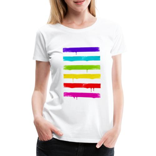 LGBT STRIPES - Frauen Premium T-Shirt