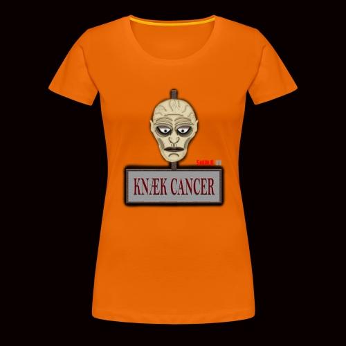 Knæk Cancer Kollektion ! - Dame premium T-shirt