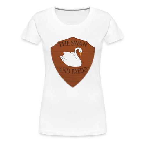 The Swan and Peado Pub - Women's Premium T-Shirt