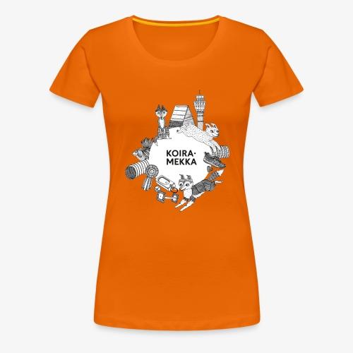 Koiramekka Original - Naisten premium t-paita