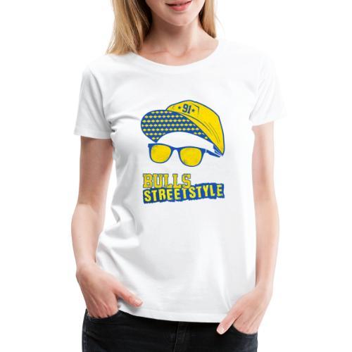 Bulls Streetstyle Yellow - Frauen Premium T-Shirt