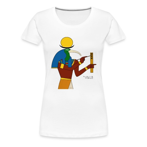 Thot – altägyptische Gottheit - Frauen Premium T-Shirt