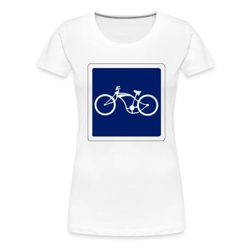 panneau - T-shirt Premium Femme
