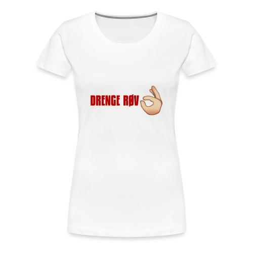 DRENGE RØV - Dame premium T-shirt