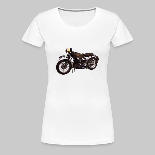 Black Shadow vintage motor bike - Women's Premium T-Shirt