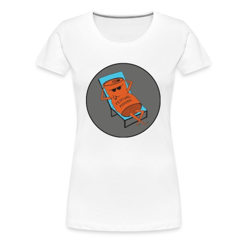 Festivalpodden - Loggan - Premium-T-shirt dam