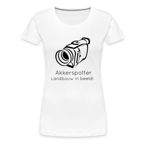 Logo akkerspotter - Vrouwen Premium T-shirt