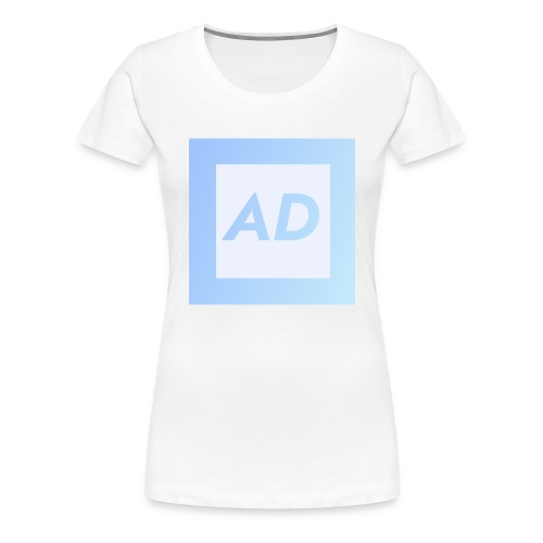 Blue Logo - Women's Premium T-Shirt