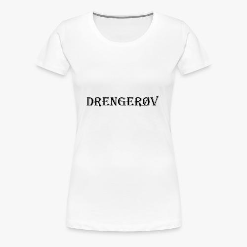 Drenger vLogo - Women's Premium T-Shirt