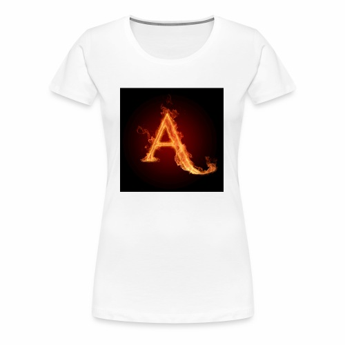 The letter A the letter a 22186960 2560 2560 - Women's Premium T-Shirt