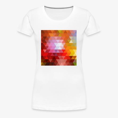 TRIFACE motif - T-shirt Premium Femme