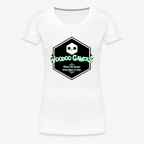 Show your Voodoo Gaming Retro Love! - Women's Premium T-Shirt