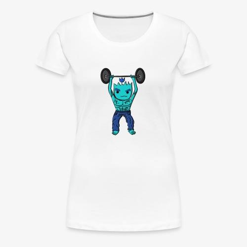 LLAMITA GYM - Camiseta premium mujer