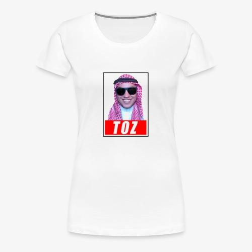 TozQatar - T-shirt Premium Femme