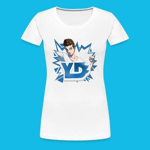 Avatar + Logo - Frauen Premium T-Shirt