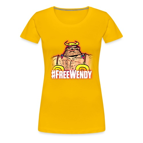 #FreeWendy - Women's Premium T-Shirt