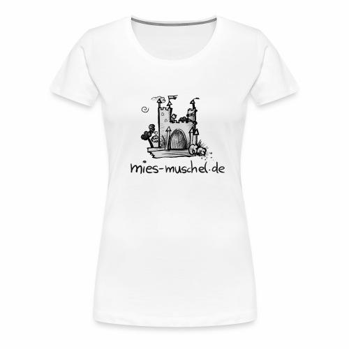 Prinzessinnenschloss - Frauen Premium T-Shirt