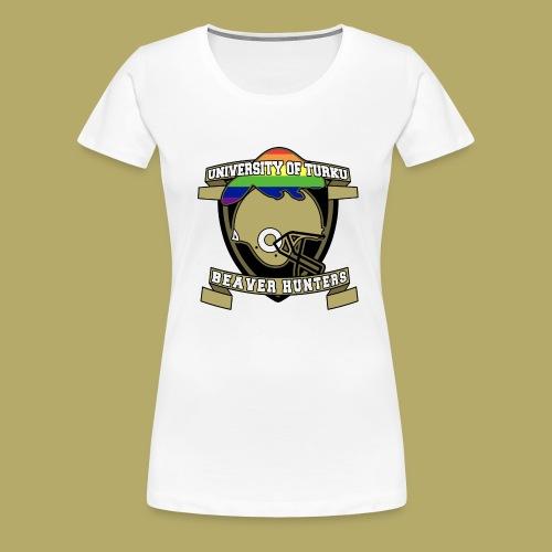 Beaver Hunters - Naisten premium t-paita