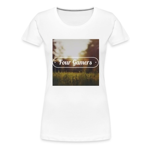Four Gamers Mok - Vrouwen Premium T-shirt