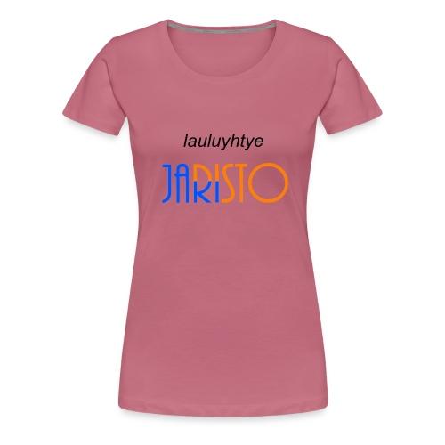 JaRisto Lauluyhtye - Naisten premium t-paita