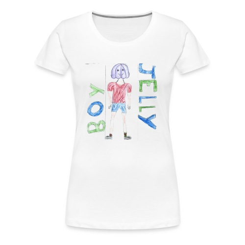 Awesome drawing made by: 'Anonymous' - Women's Premium T-Shirt