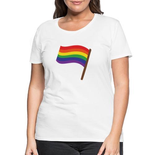 Regenbogenfahne | Geschenk Idee | LGBT - Frauen Premium T-Shirt