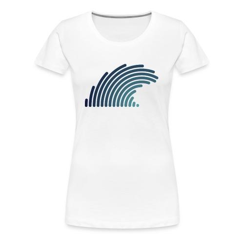 Blue Wave - T-shirt Premium Femme