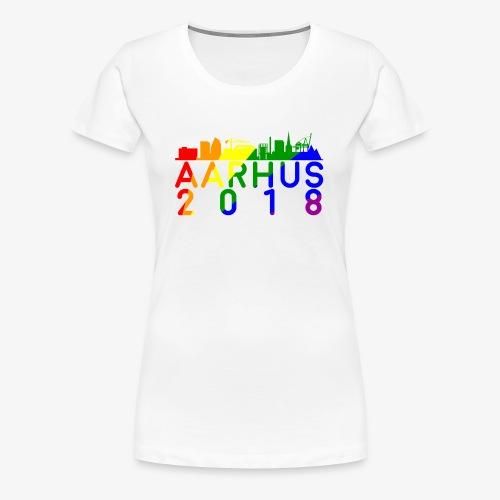 Aarhus Pride 2018 - Dame premium T-shirt