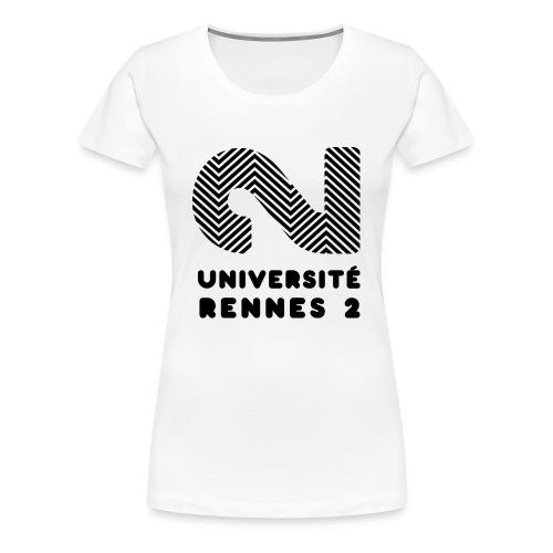 Université Rennes 2 - T-shirt Premium Femme