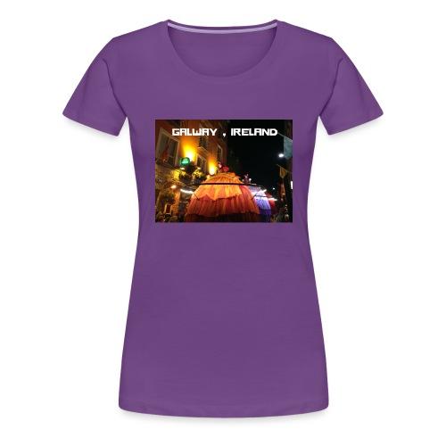 GALWAY IRELAND MACNAS - Women's Premium T-Shirt