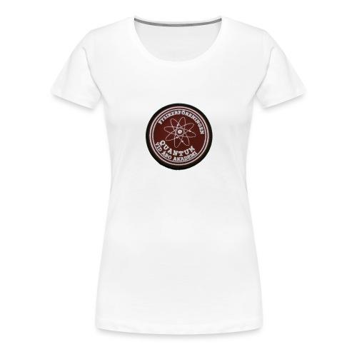quantum - Naisten premium t-paita