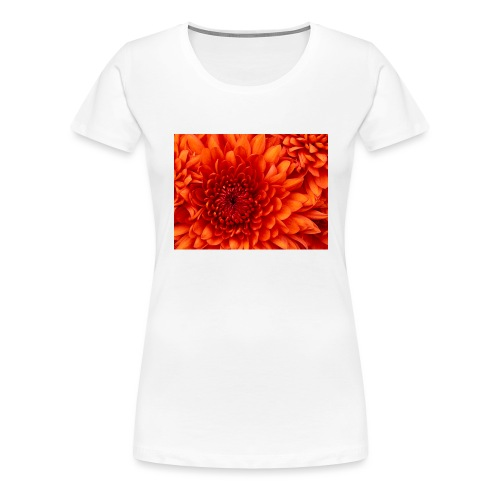 Chrysanthemum - Vrouwen Premium T-shirt
